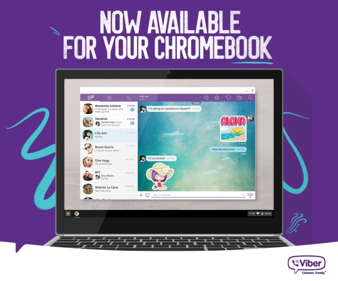 chrome OS viber