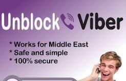 unblock viber